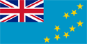 Tuvalu Flag Medium