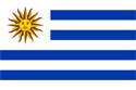 Uruguay Flag Medium