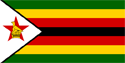 Zimbabwe Flag Medium