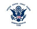 Coast Guard Flag Medium