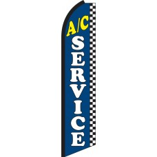 A/C Service Swooper Feather Flag