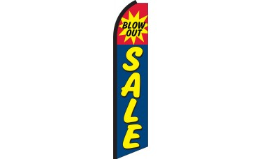 Blow Out Sale Swooper Feather Flag