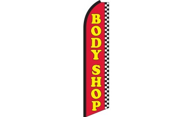 Body Shop Swooper Feather Flag