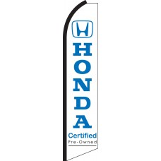 Honda Certified Swooper Feather Flag
