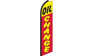 Oil Change Swooper Feather Flag