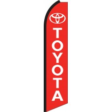 Toyota Swooper Feather Flag