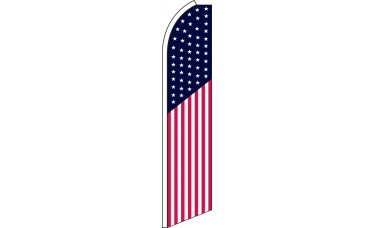 USA Swooper Feather Flag