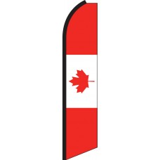 Canada Swooper Feather Flag