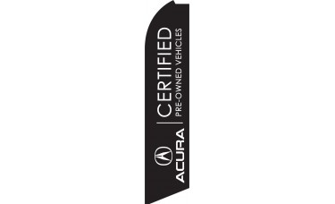 Acura Certified Swooper Feather Flag