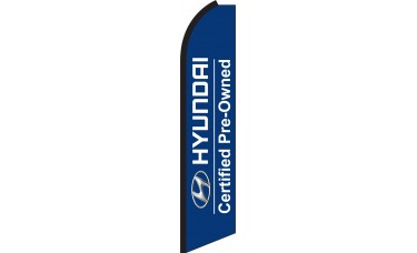 Hyundai Certified Swooper Feather Flag