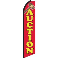 Auction Swooper Feather Flag