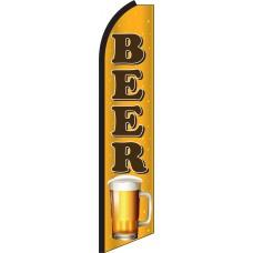 Beer Swooper Feather Flag