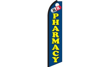 Pharmacy Swooper Feather Flag