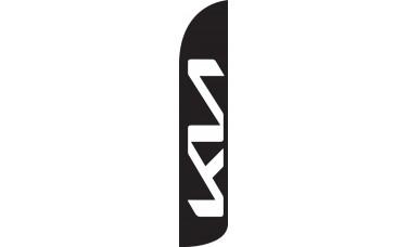 Kia Wind-Free Feather Flag