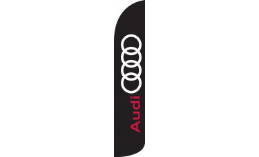 Audi Wind-Free Feather Flag