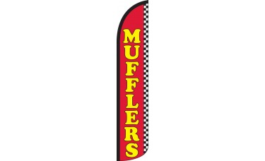 Mufflers Wind-Free Feather Flag