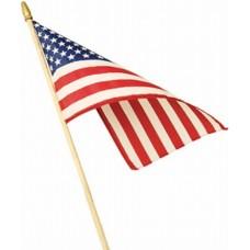 "American Stick Flag 4"" x 6"""