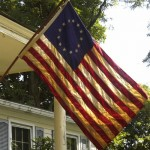 Outdoor Historical Flag Sets
