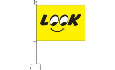 Look Car Flag