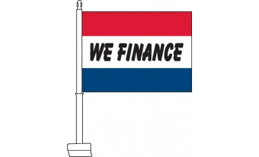 We Finance Car Flag