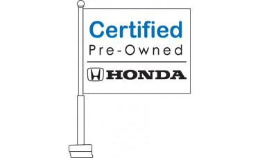 Honda Certified Pre-Owned Car Flag