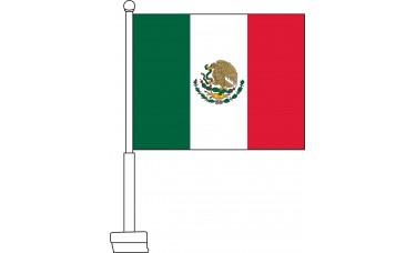 Mexico Car Flag