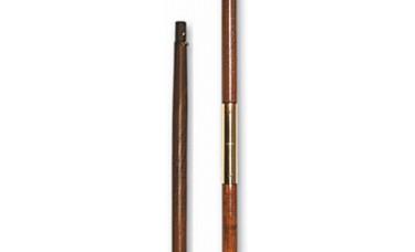 9' x 1 1/4 Inch 2-Piece Oak Pole
