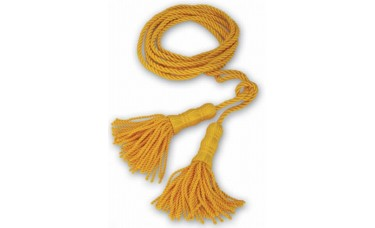 Golden Yellow Cord With 6 Inch Tassel