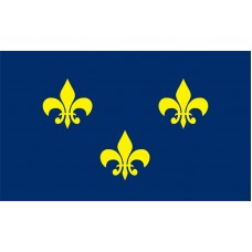 French Fleur De Lis Flag Outdoor Nylon