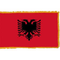 Albania Flag Indoor Nylon