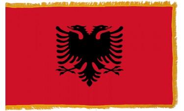 Albania Flag Indoor Nylon