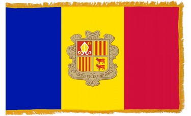 Andorra Flag Indoor Nylon
