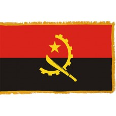 Angola Flag Indoor Nylon