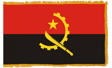 Angola Flag Indoor Nylon