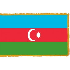 Azerbaijan Flag Indoor Nylon