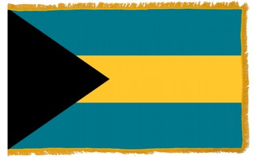 Bahamas Flag Indoor Nylon
