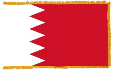 Bahrain Flag Indoor Nylon