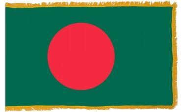 Bangladesh Flag Indoor Nylon