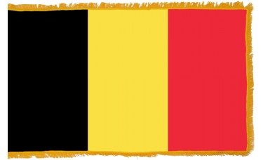Belgium Flag Indoor Nylon