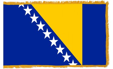 Bosnia-Herzegovina Flag Indoor Nylon