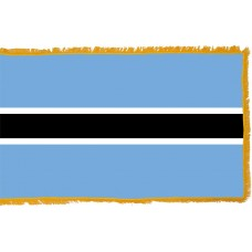 Botswana Flag Indoor Nylon