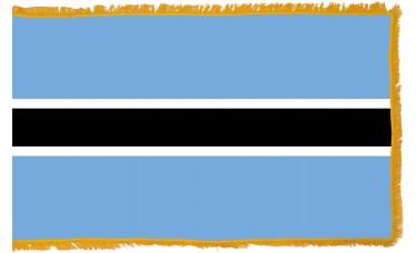 Botswana Flag Indoor Nylon