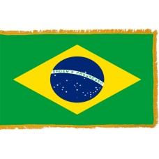 Brazil Flag Indoor Nylon