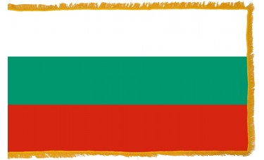 Bulgaria Flag Indoor Nylon
