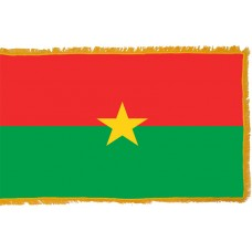 Burkina Faso Flag Indoor Nylon