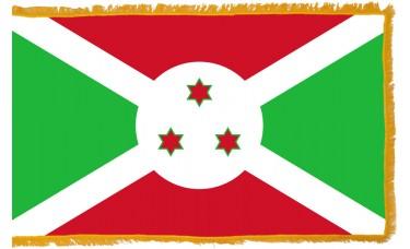 Burundi Flag Indoor Nylon