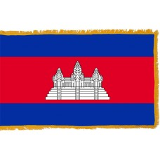 Cambodia Flag Indoor Nylon