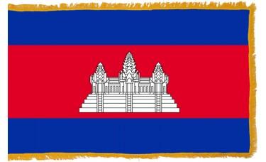 Cambodia Flag Indoor Nylon