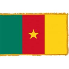 Cameroon Flag Indoor Nylon