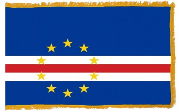Cape Verde Flag Indoor Nylon